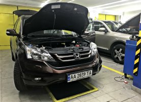 гбо на Honda CR-V BLACK