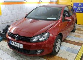 гбо на Volkswagen Red