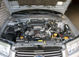 Subaru Grey на газу