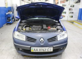 газ на Renault Dark Blue