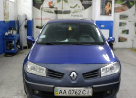 гбо на Renault Dark Blue