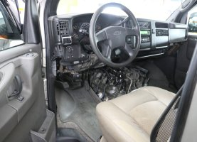 гбо на Chevrolet Express Explorer (beige 2)