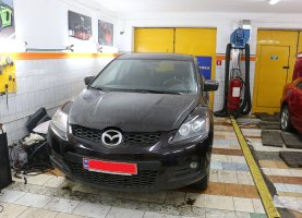 Mazda CX7 с гбо