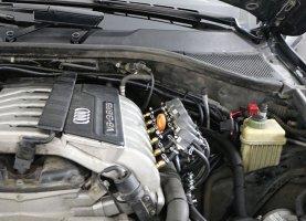 Audi q7 3.6 FSI с гбо